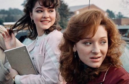 Madelyn Cline in 'Stranger Things'.