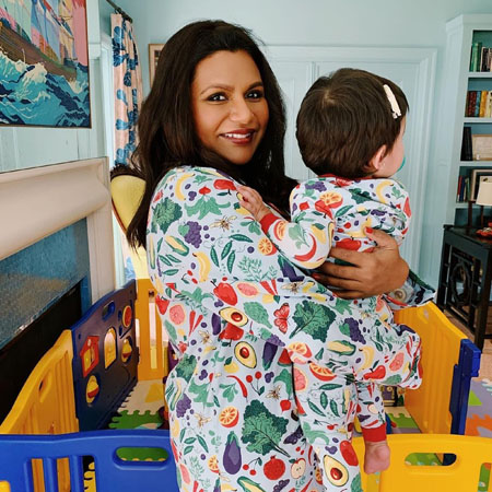 Mindy Kaling is the mother of a beautiful baby girl who was born in December of 2017.