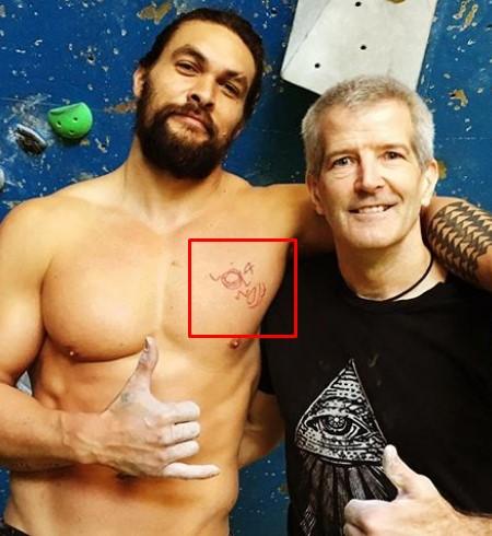 Jason Momoa tattoos.