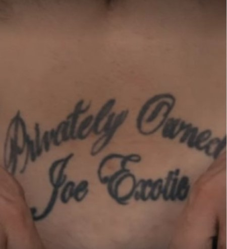 John Finlay Tattoo: Privately Owned by Joe Exotic