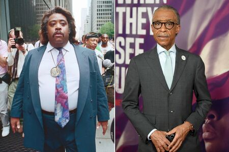 Al Sharpton before and after weight loss.