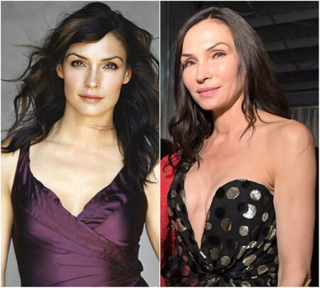 Famke Janssen plastic surgery face along with before and after pictures shocked fans.