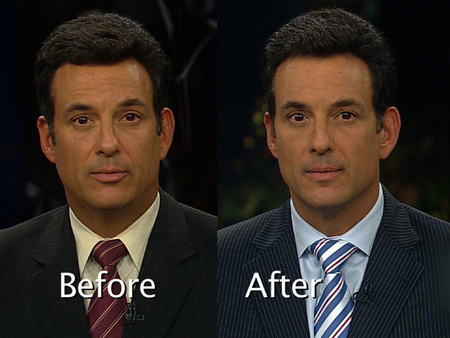 Frank Vascellaro before and after weight loss.