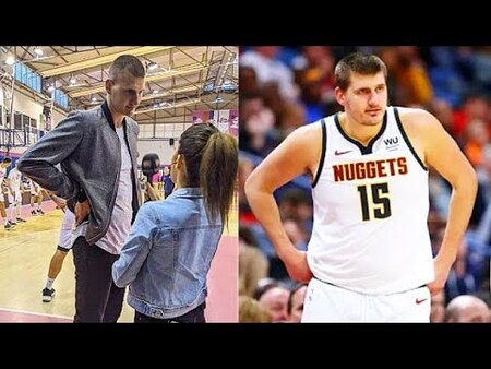 Nikola Jokic before and after weight loss.