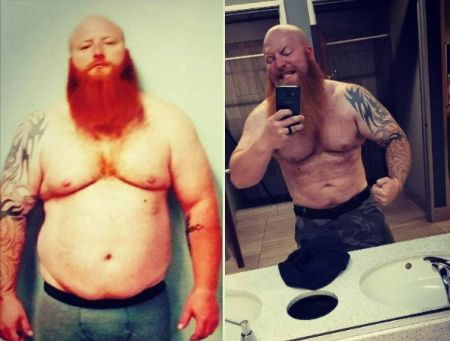 Action Bronson before and after weight loss.