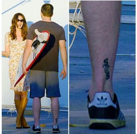 Chris Evans tattoo, SCS.