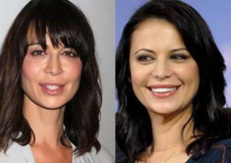 Catherine Bell allegedly had multiple plastic surgery done.