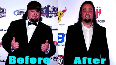 Chumlee before and after weight loss.