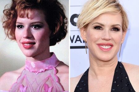 Molly Ringwald is often the subject of plastic surgery speculations through before and after pictures.
