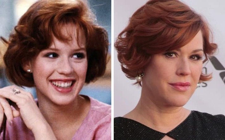 Real Truth About Breakfast Club's Molly Ringwald's Plastic Surgery Speculations
