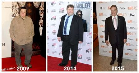 John Goodman before and after weight loss through the years.