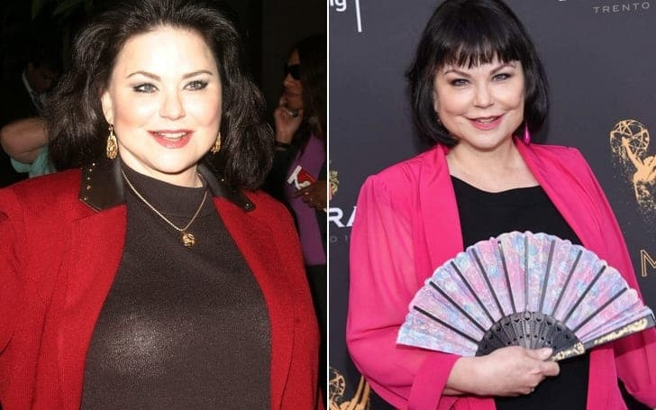 Delta Burke before and after weight loss.