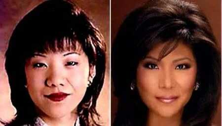 Julie Chen before and after plastic surgery.