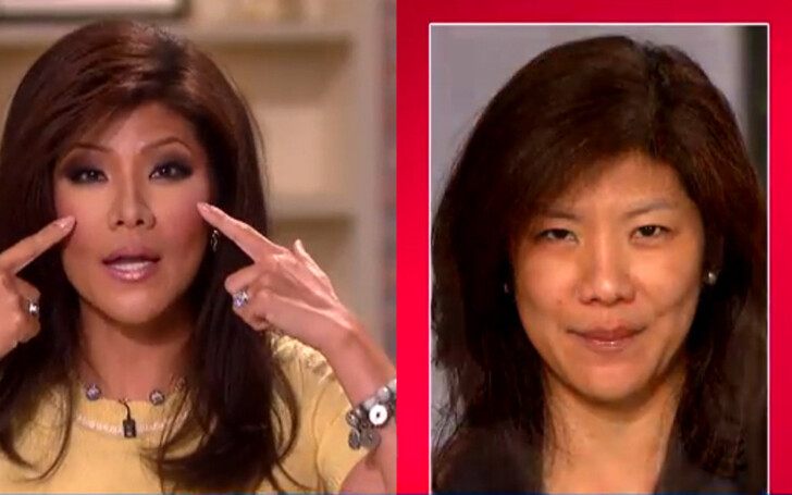 Julie Chen's Double Eyelid Plastic Surgery - Did She Have Nose Job