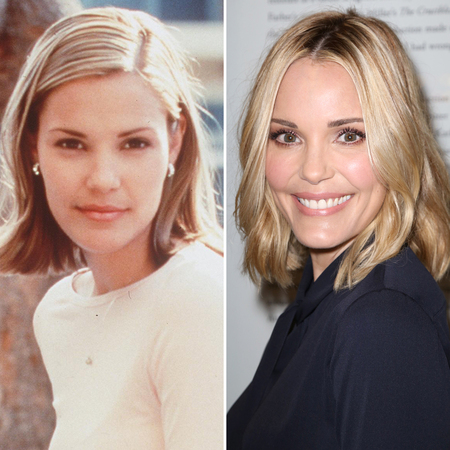 Fans often speculate Leslie Bibb's plastic surgery through before and after pictures.