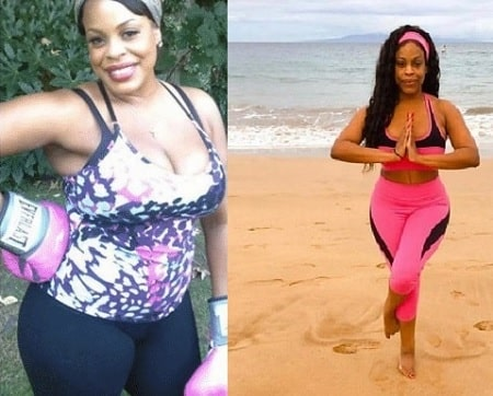Niecy Nash before and after alleged plastic surgery.