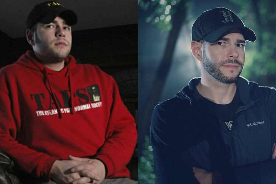 Ghost Nation star Steve Gonsalves before and after weight loss surgery.