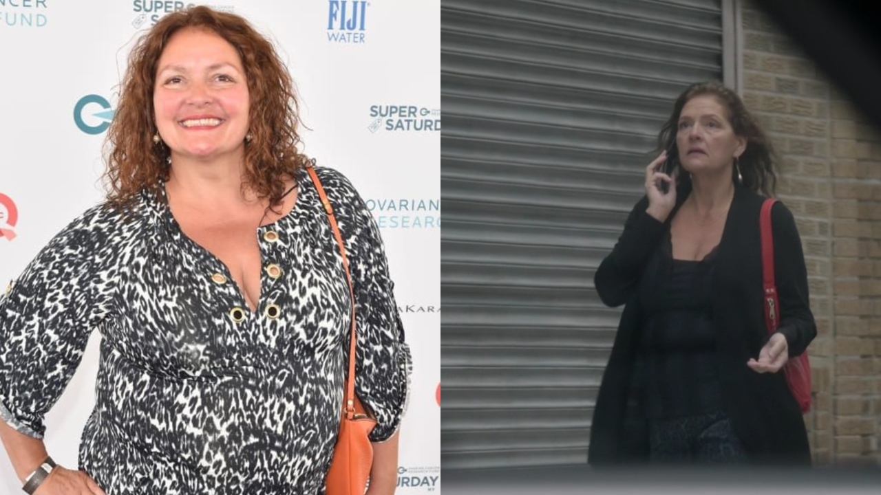 'The Blacklist' Heddie Hawkins actress Aida Turturro before and after weight loss.