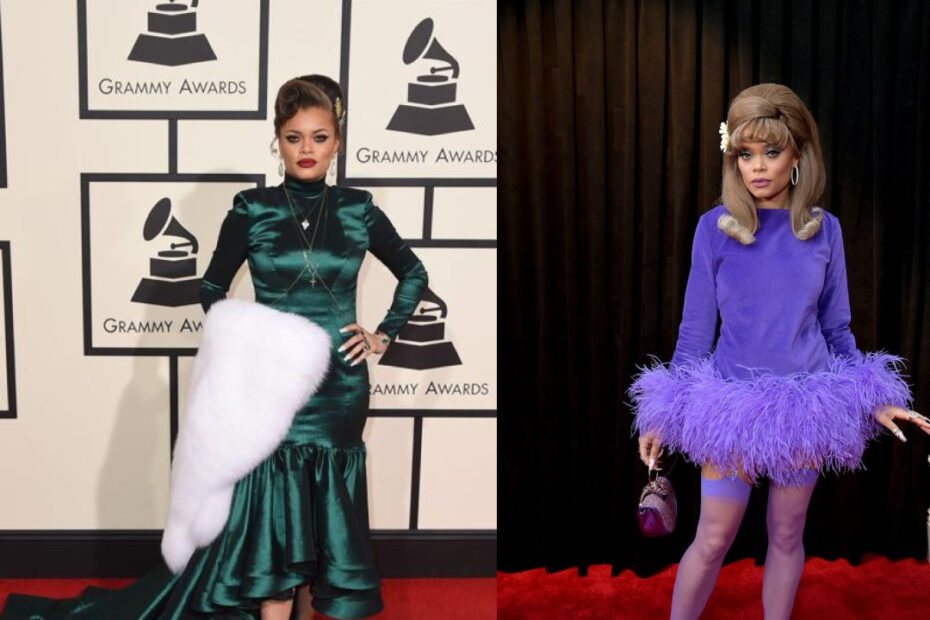 Andra Day before and after weight loss.