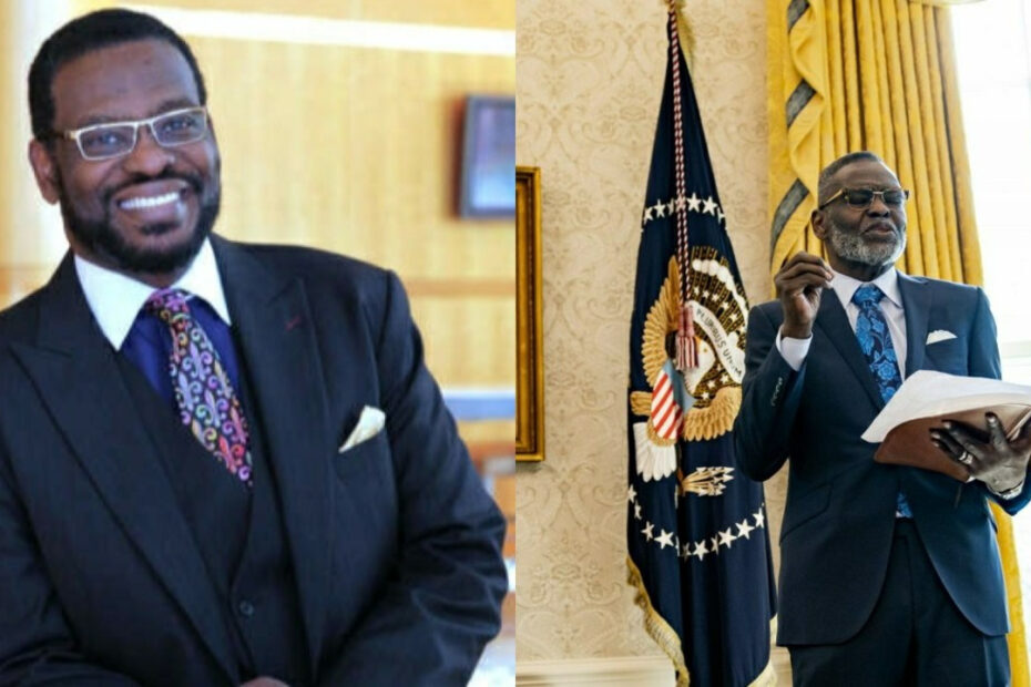 Bishop Harry Jackson before and after weight loss.