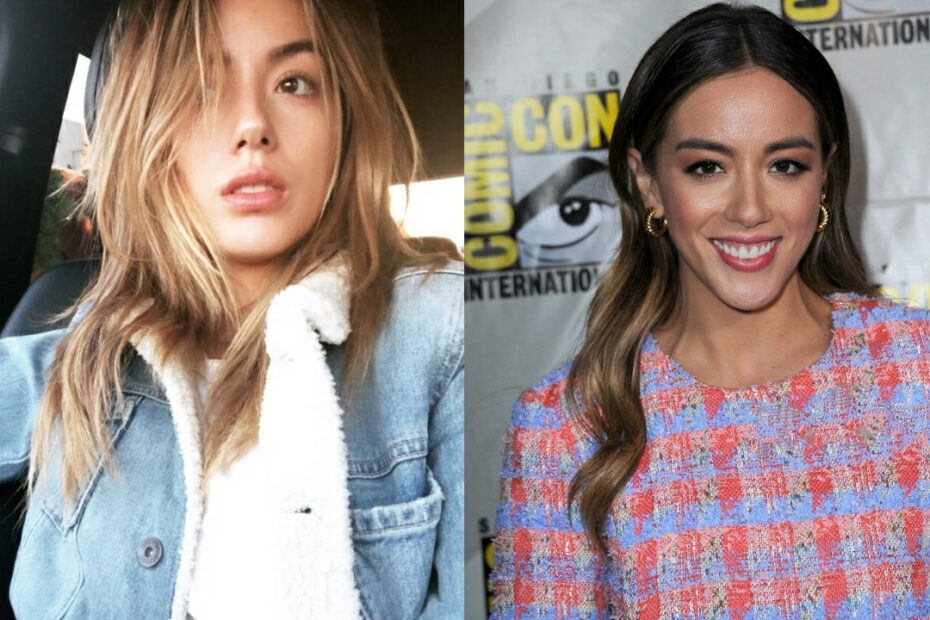 Chloe Bennet before and after plastic surgery.
