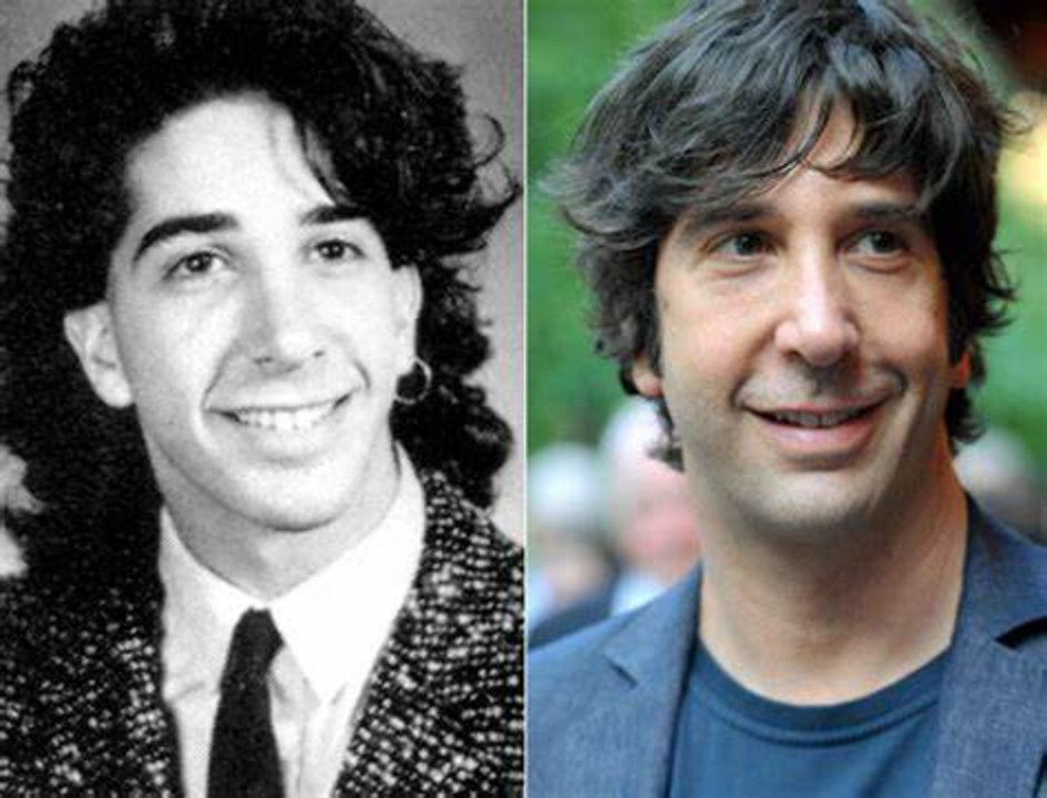 David Schwimmer's plastic surgery includes nose job and facelift.