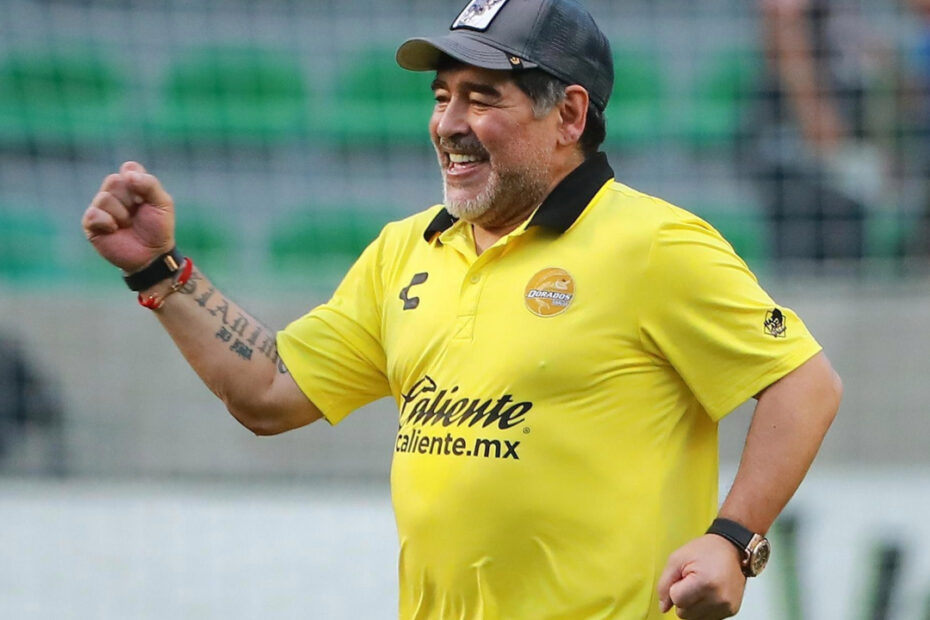 Diego Maradona's Weight Loss & Health Issues Prior to His Death