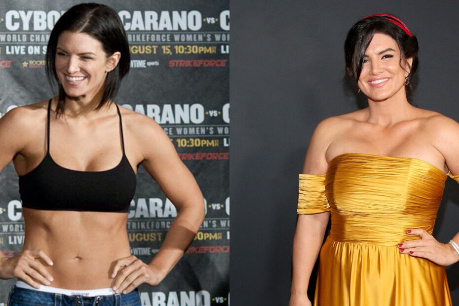 Gina Carano before and after plastic surgery.