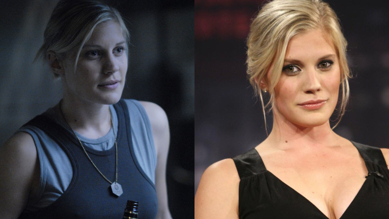 Katee Sackhoff is the subject of plastic surgery through before and after images.