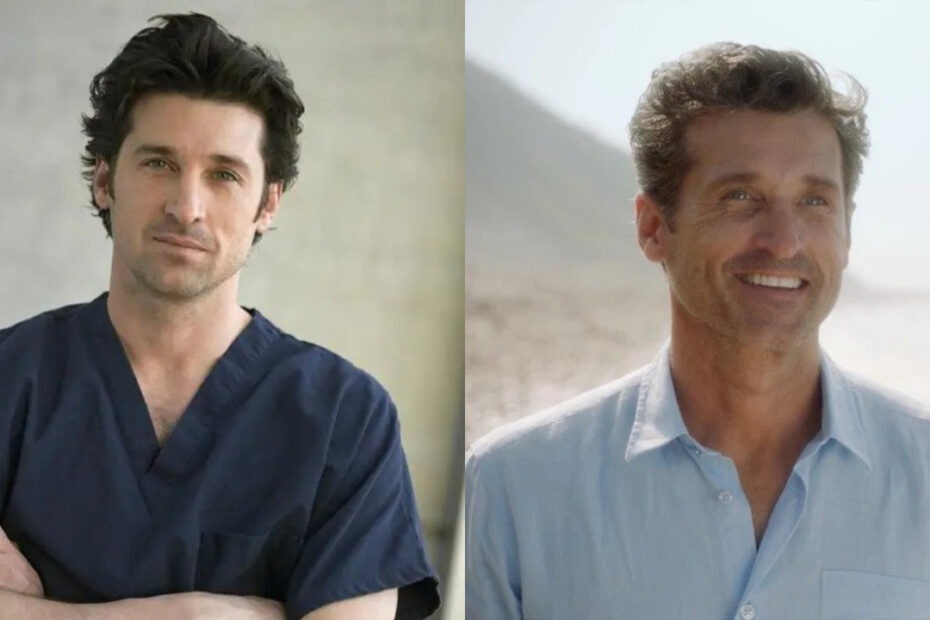 Patrick Dempsey before and after weight loss.