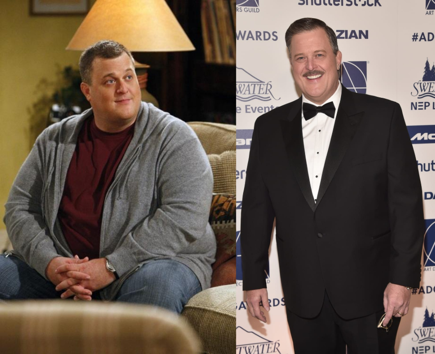 Billy Gardell before and after unbelievable weight loss.