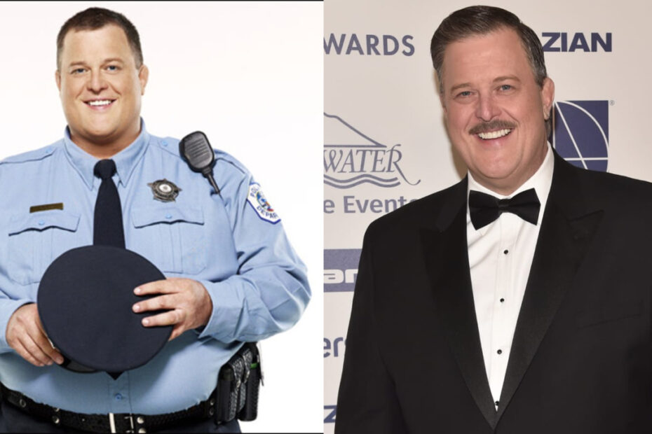 Billy Gardell before and after weight loss.