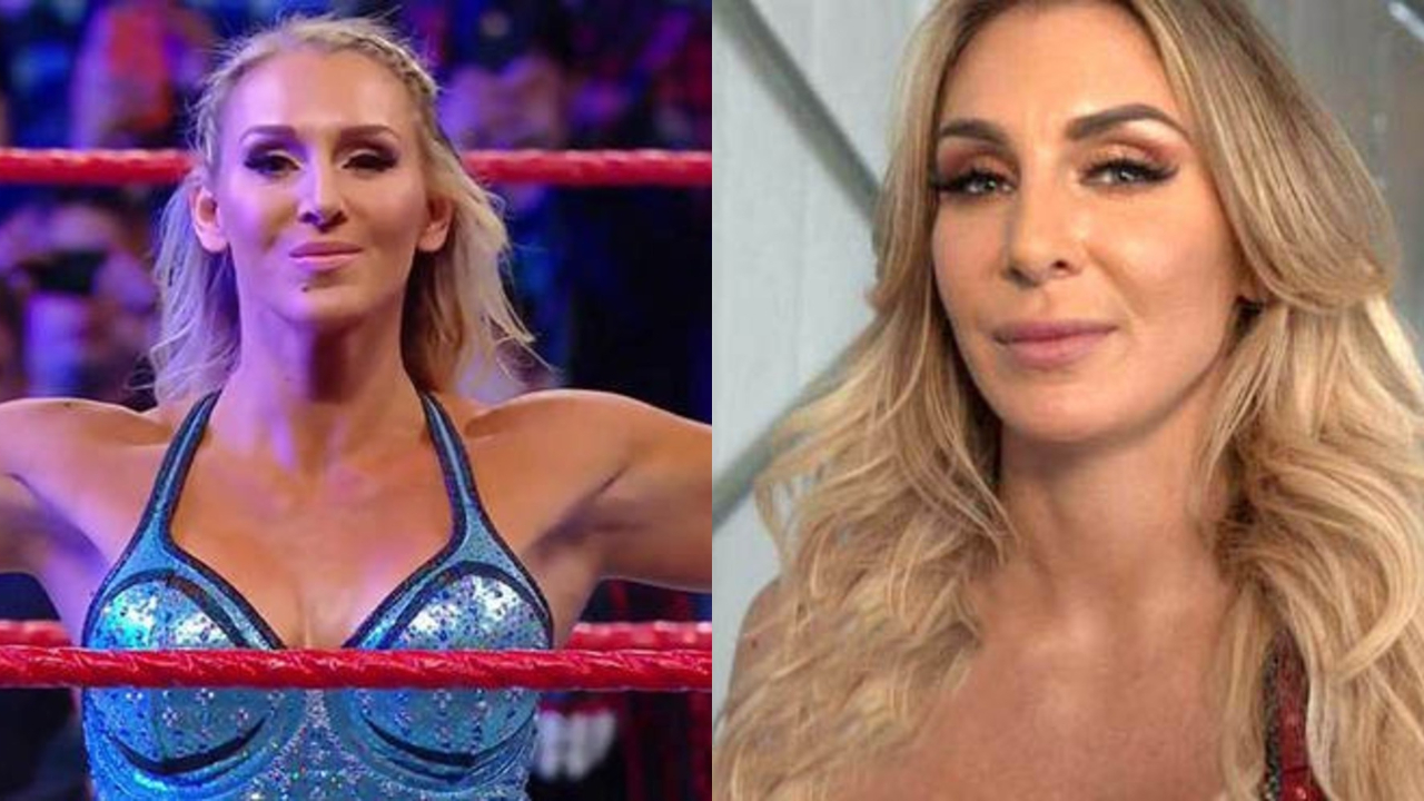 Charlotte Flair before and after alleged nose job plastic surgery.