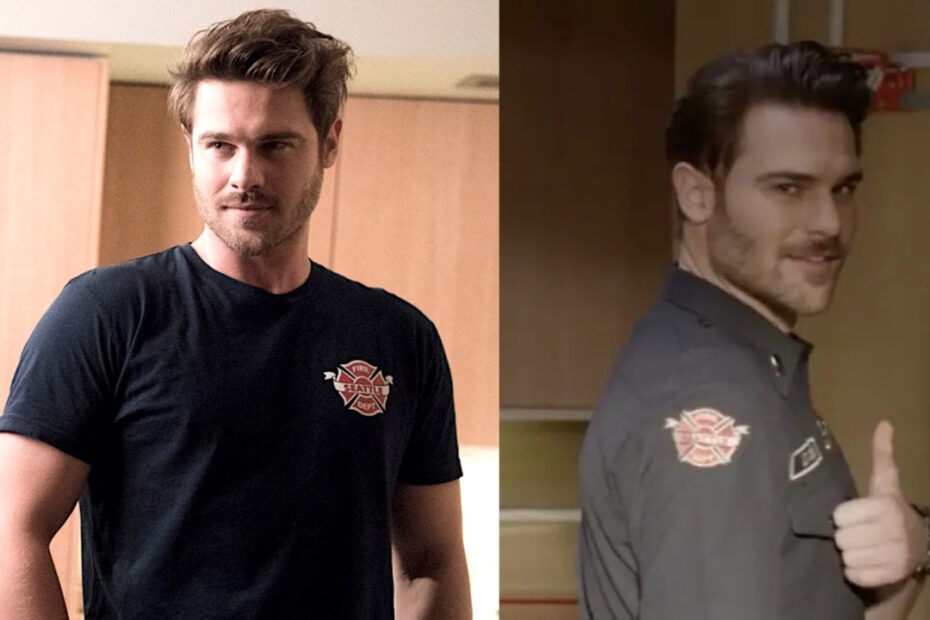 Grey Damon before and after weight loss in 2020.