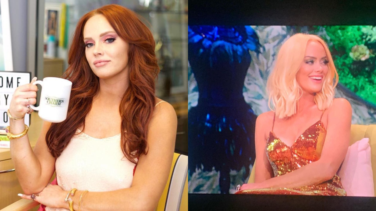 Southern Charm star Kathryn Dennis before and after weight loss.