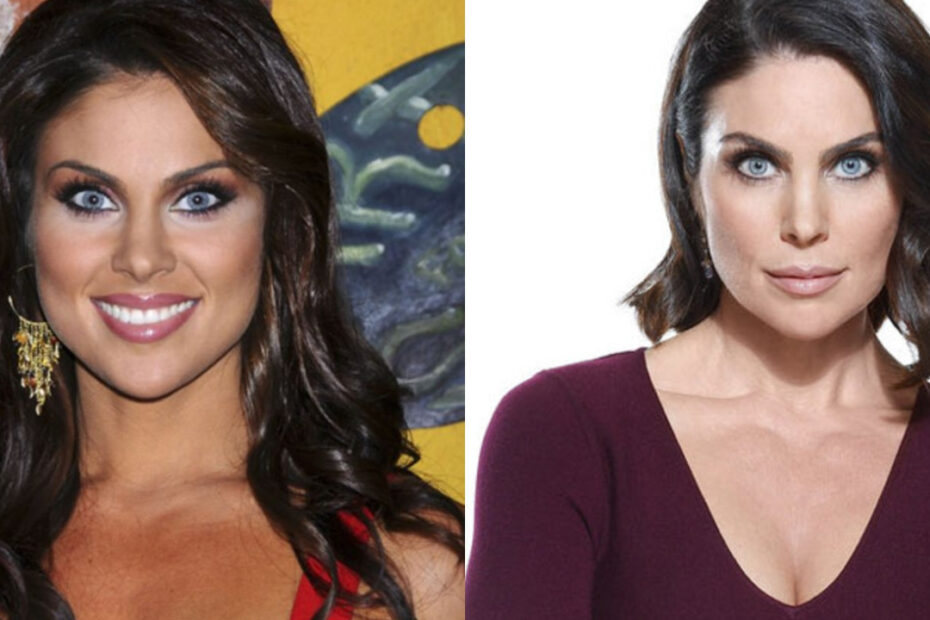 Nadia Bjorlin before and after plastic surgery.