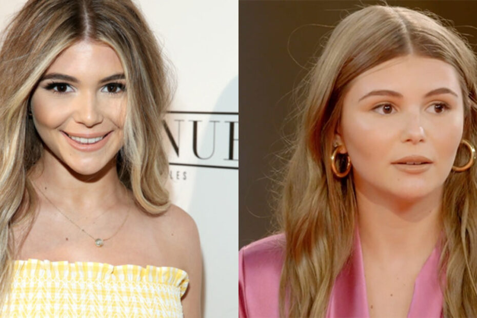 Olivia Jade before and after plastic surgery.