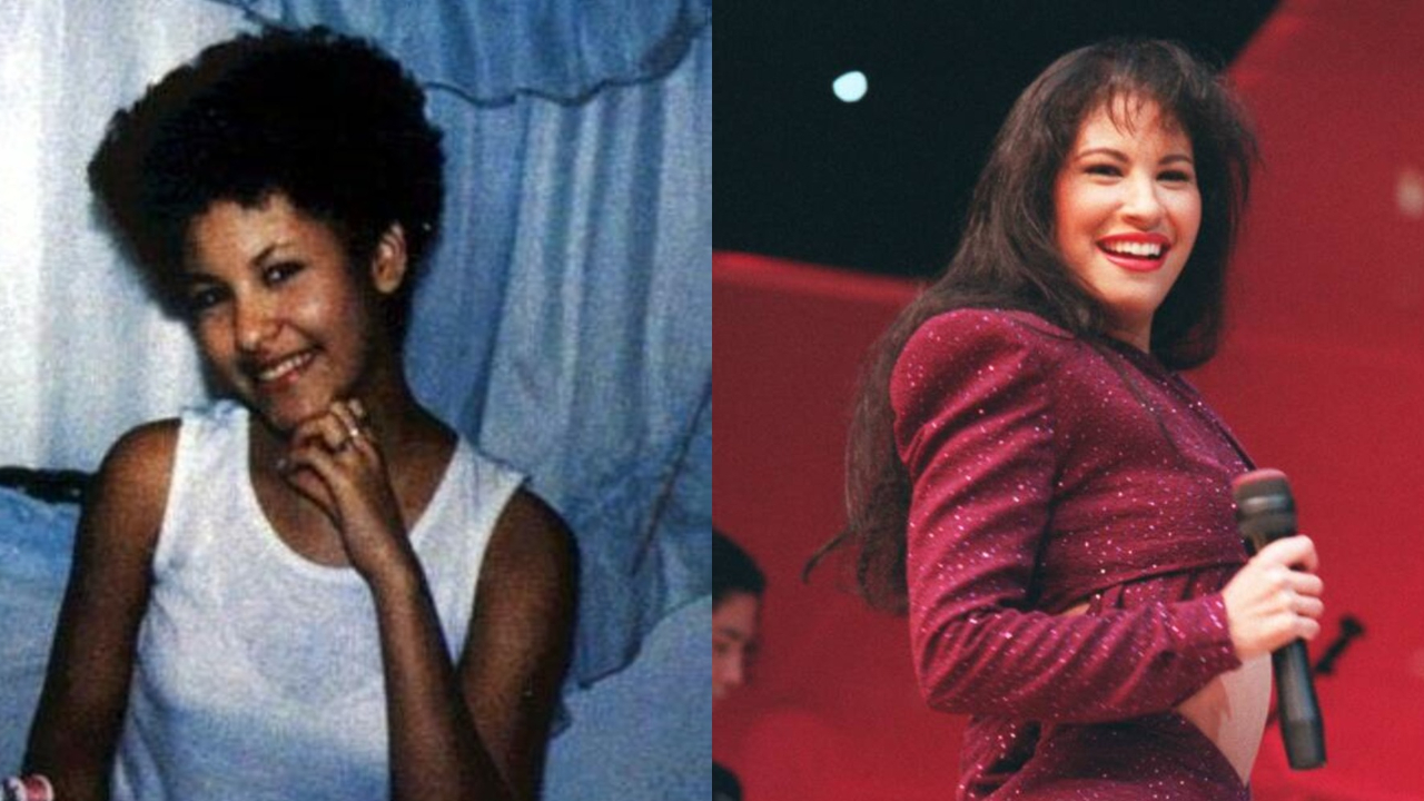 Selena Quintanilla before and after plastic surgery.