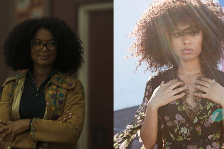 Jaz Sinclair before and after weight loss.