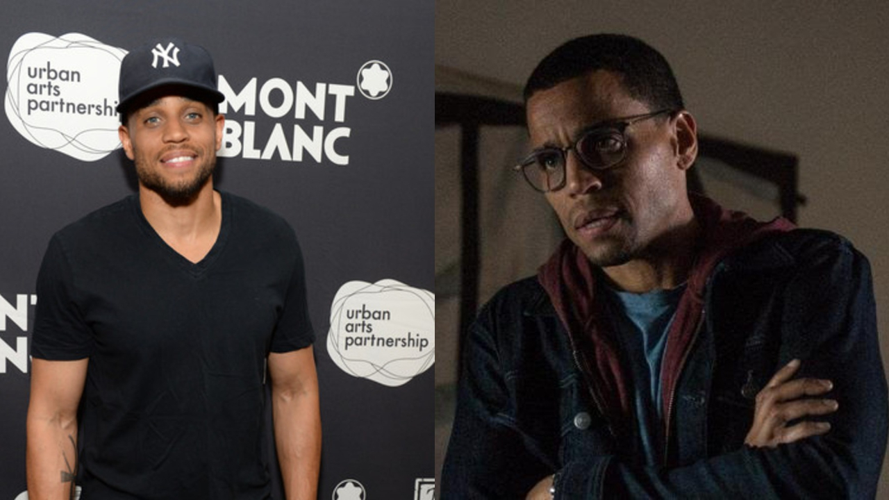 Michael Ealy before and after suspected weight loss.