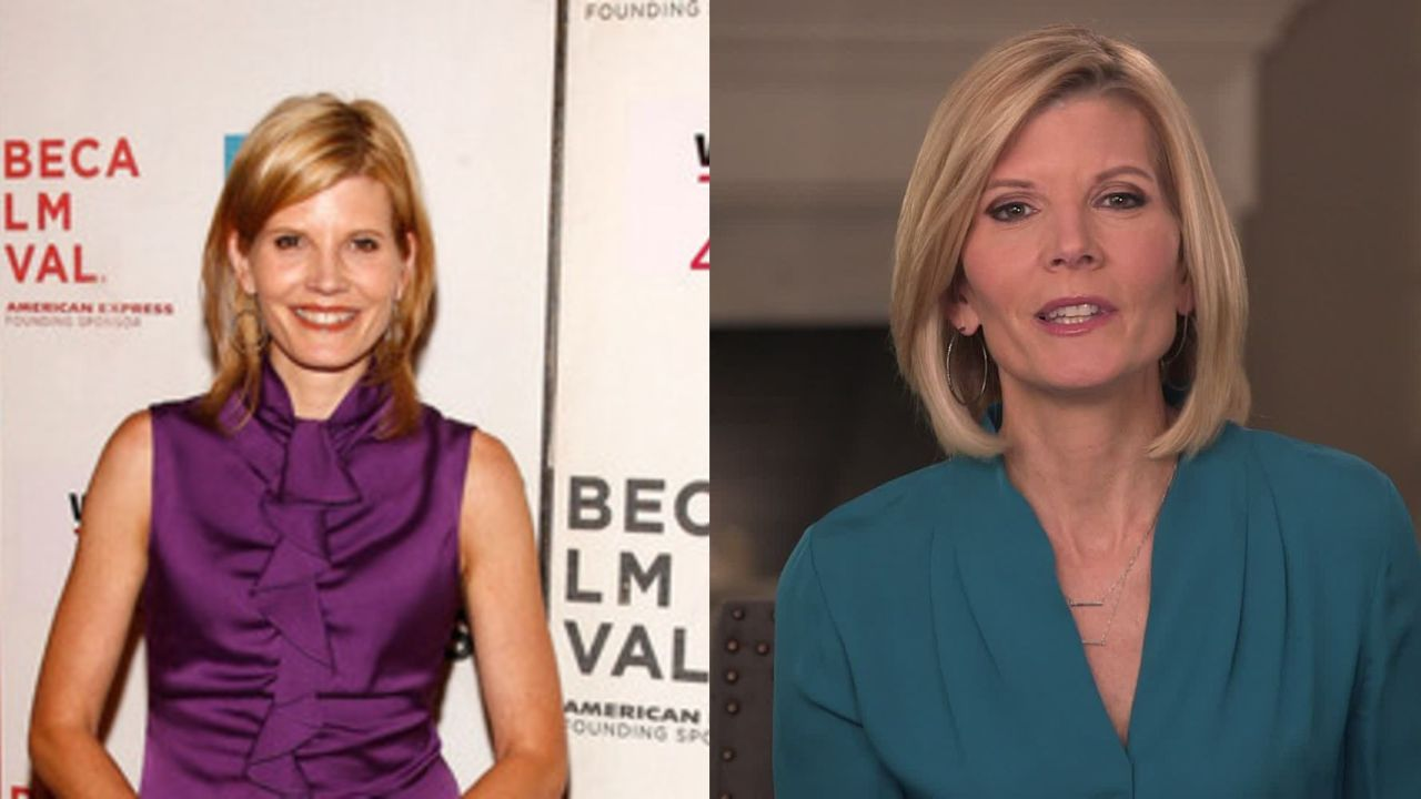 Kate Snow before and after alleged plastic surgery.