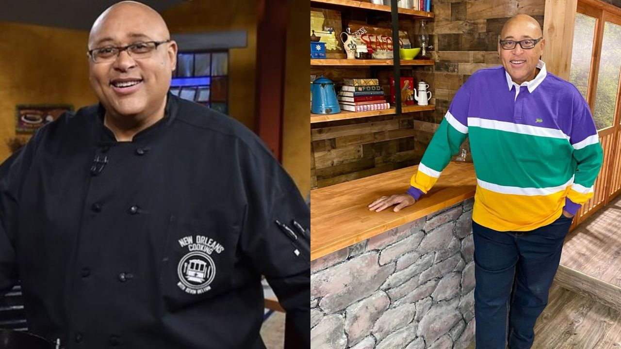 Kevin Belton before and after 130 lbs weight loss.