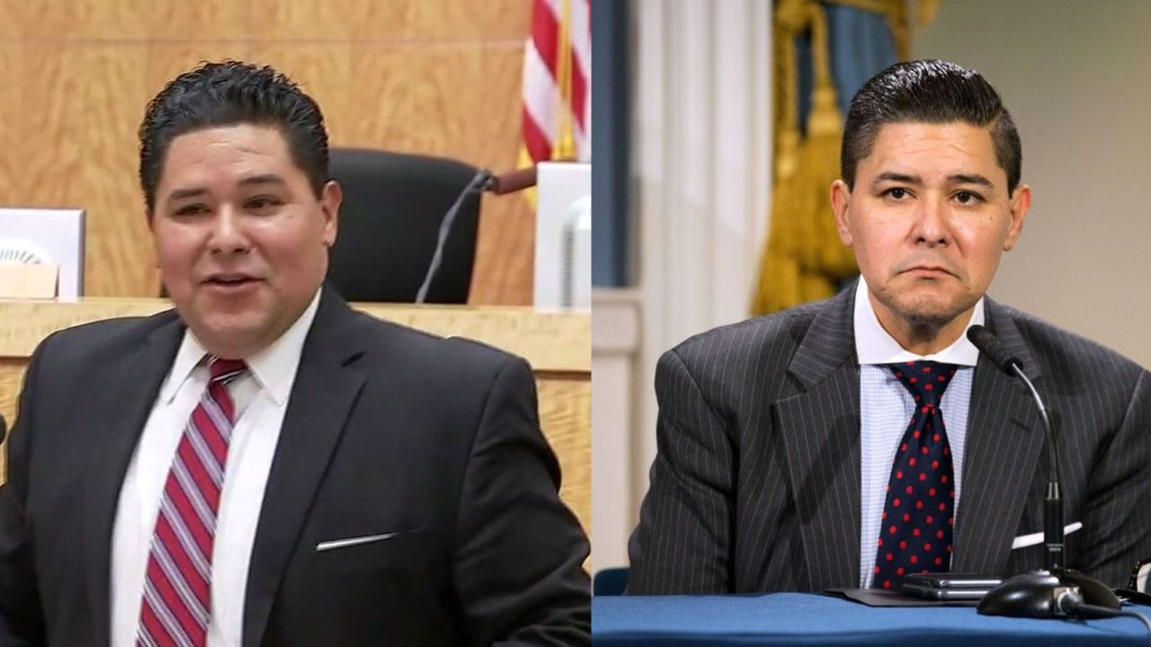Richard Carranza before and after 50 pounds weight loss.