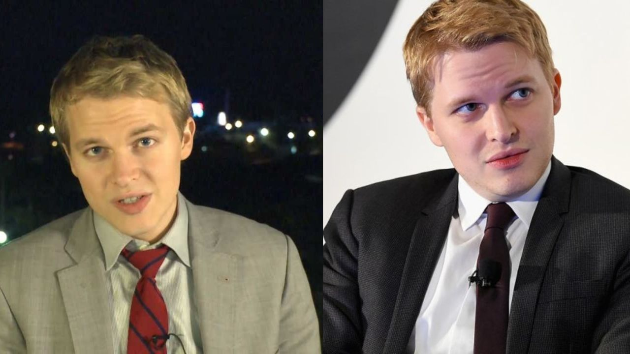 Ronan Farrow before and after plastic surgery.