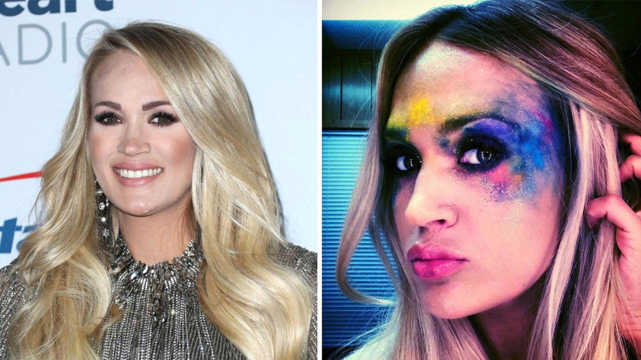 Carrie Underwood is the subject of lip injections plastic surgery following a facial scar caused by an accident.