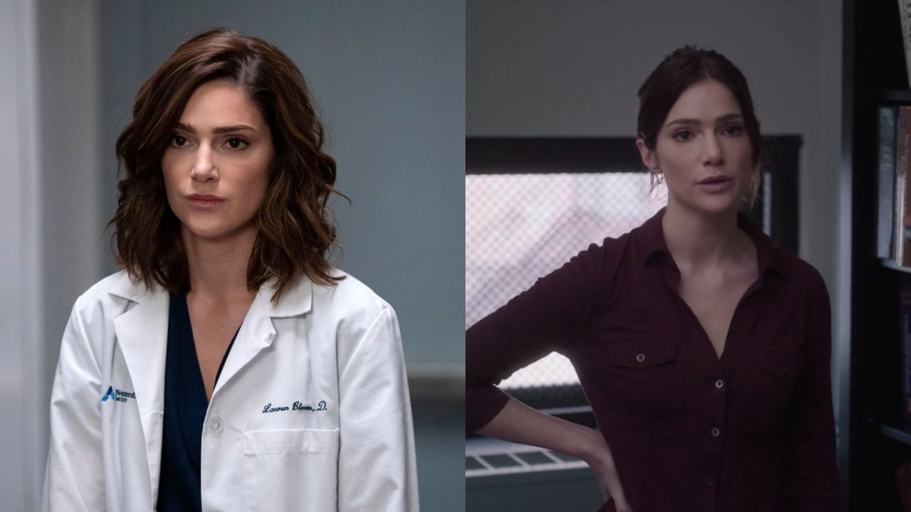 Janet Montgomery before and after supposed weight loss.