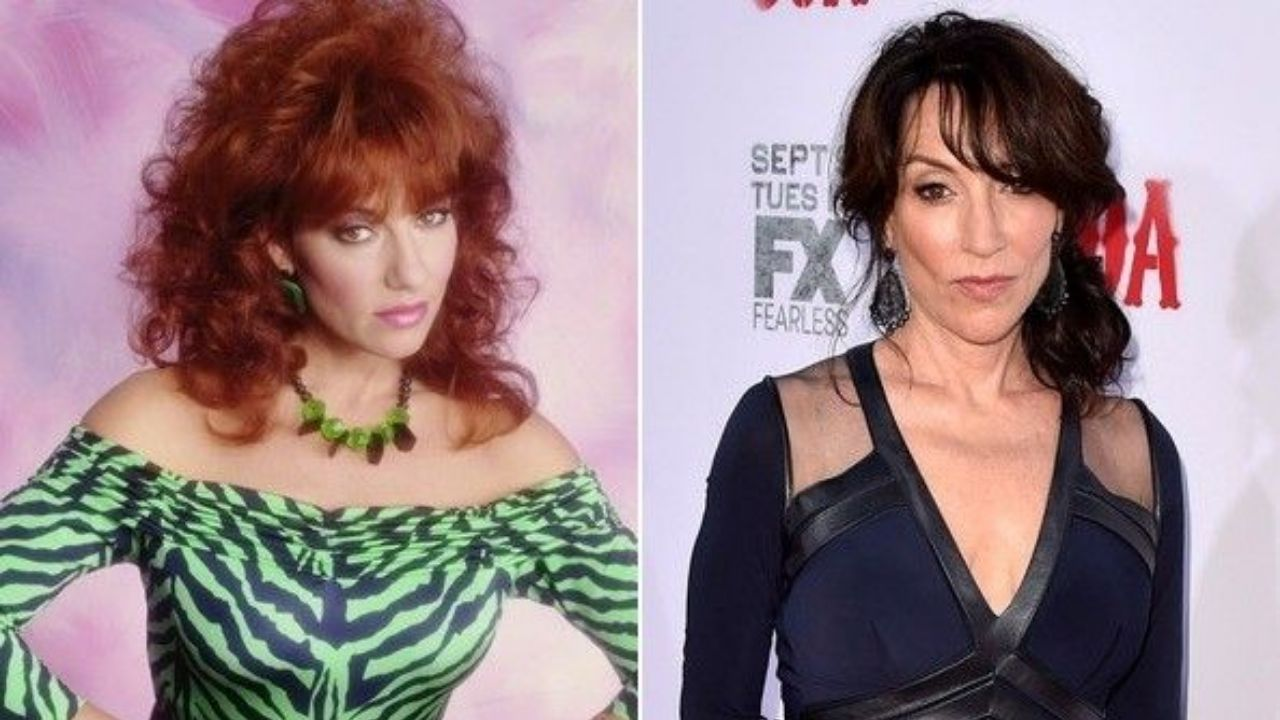 Katey Sagal before and after alleged plastic surgery.