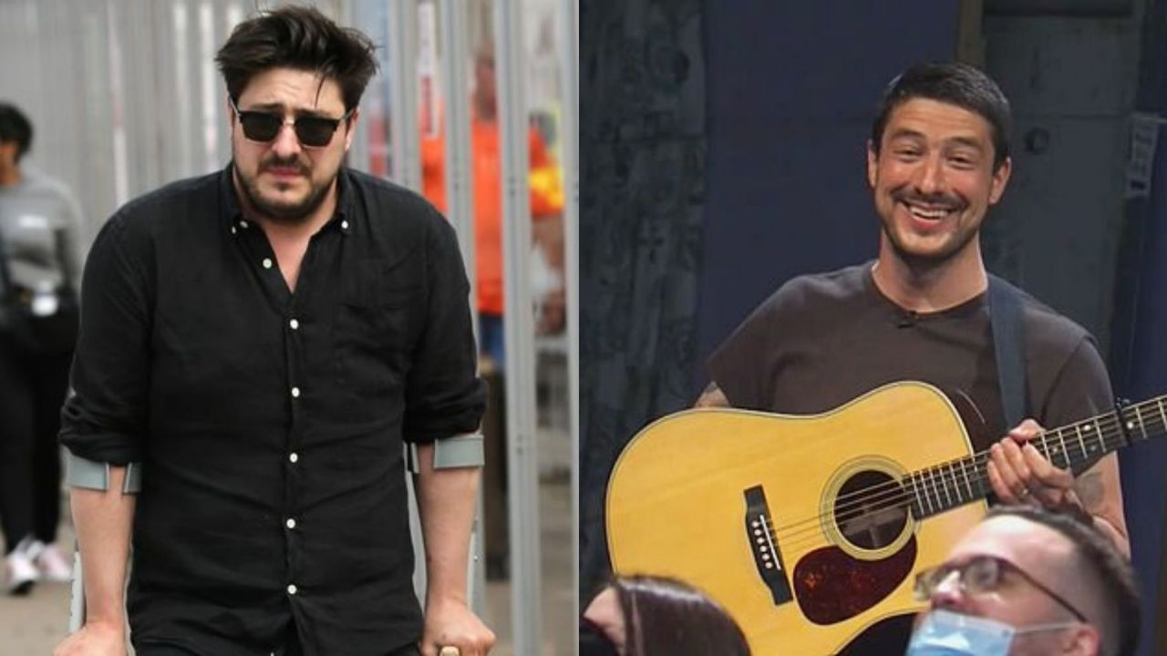 Marcus Mumford before and after weight loss.