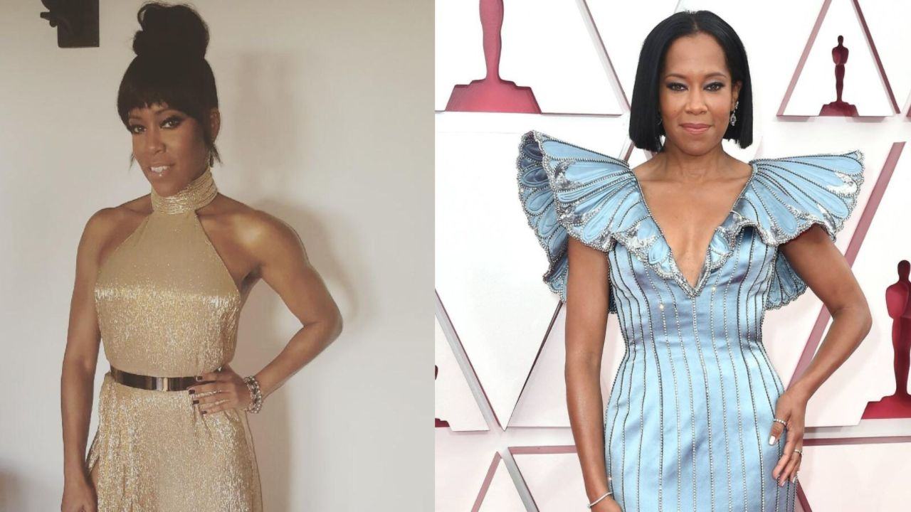 Regina King before and after plastic surgery.