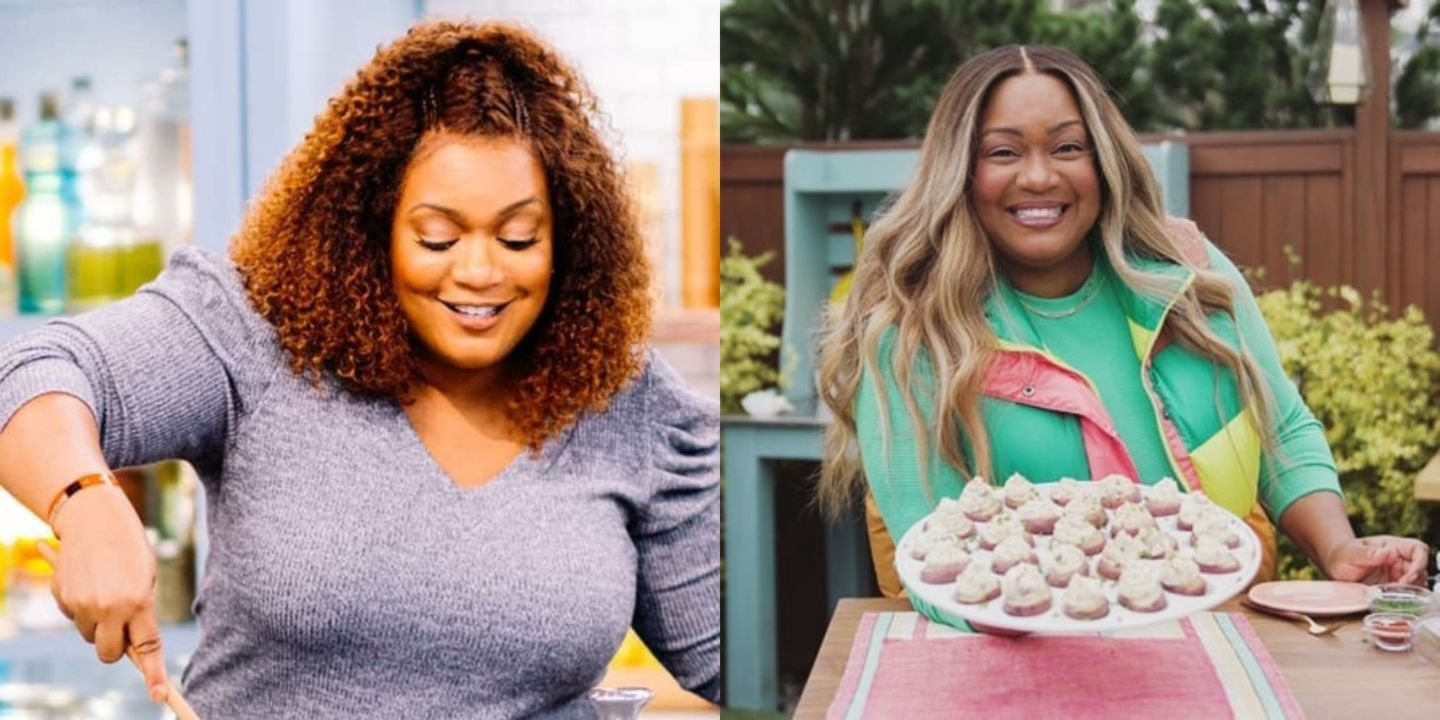 Sunny Anderson before and after weight loss.